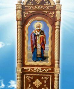 Резные киоты для икон церковных