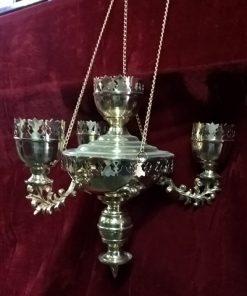 Подвесная лампада на 4 стекла