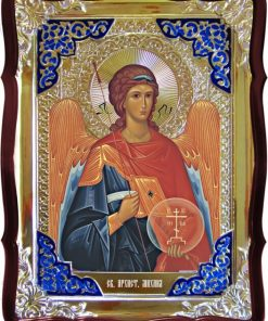 Икона Ангела Михаила в ризе 80 на 60см