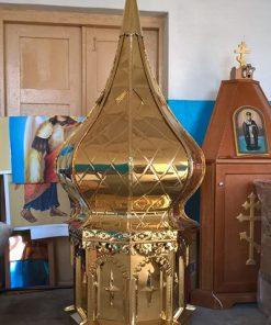 Купол большой из нитрид титана