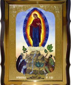 Почаевская Богоматерь икона ростовая