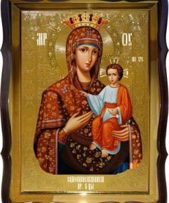 Самонаписавшаяся икона Богоматери