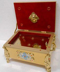 Ковчег на 2-4-6 мощевика декор латунь