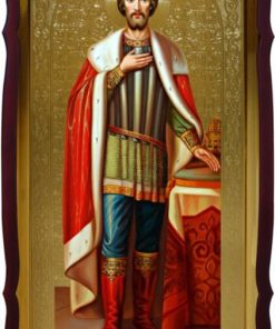 Св. Александр Невский икона рост.