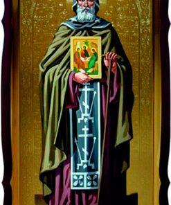 Икона Св. Александр Свирский