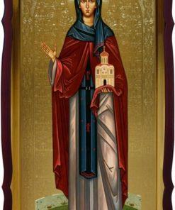 Икона Св. Ангелина Сербская 120х60см
