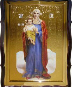 Пресвятая Богородица ростовая икона