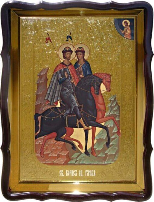 Купить икону Св. Борис и Св. Глеб