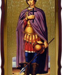 Св. Дмитрий Солунский икона в храм