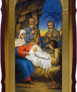 Икона Рождество Христово для церкви