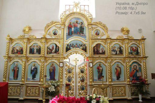 Церковный иконостас - изготовление под заказ
