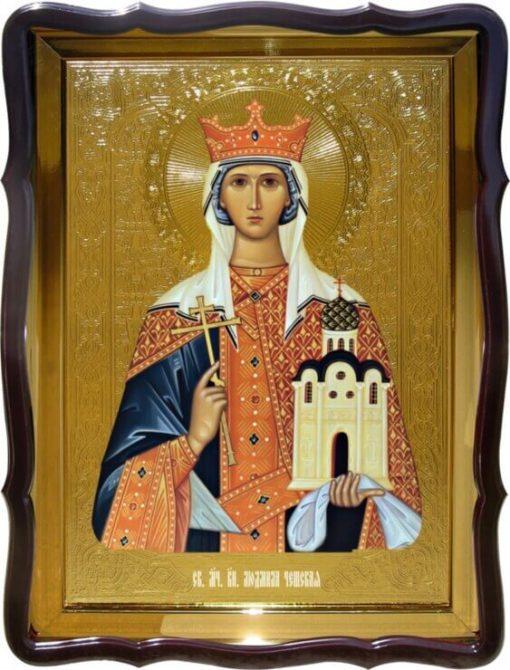 Святая Людмила Чешская 48х56см