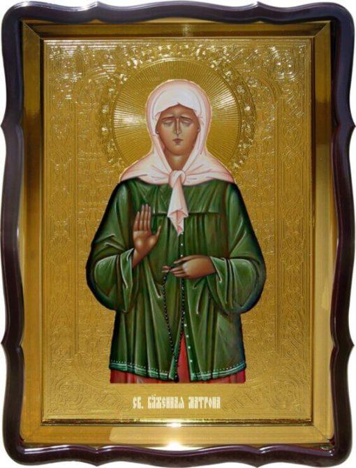 Купить икону Св. Матрона 56х48см