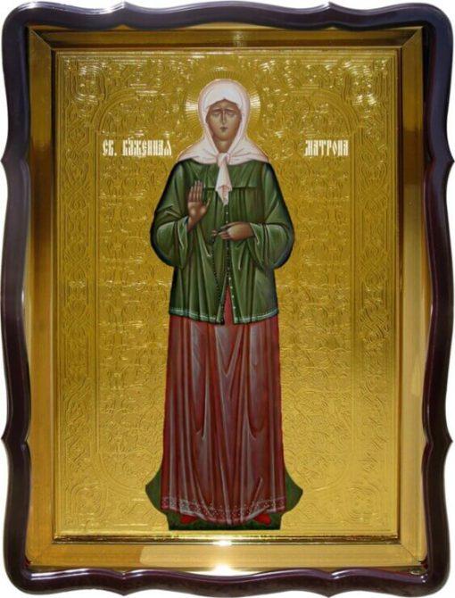 Икона Святой Матроны (ростовая)