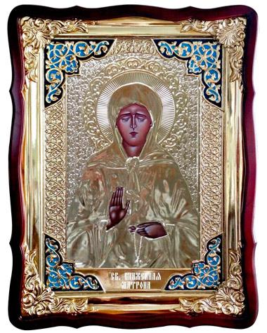 Икона Святой Матроны в ризе купить