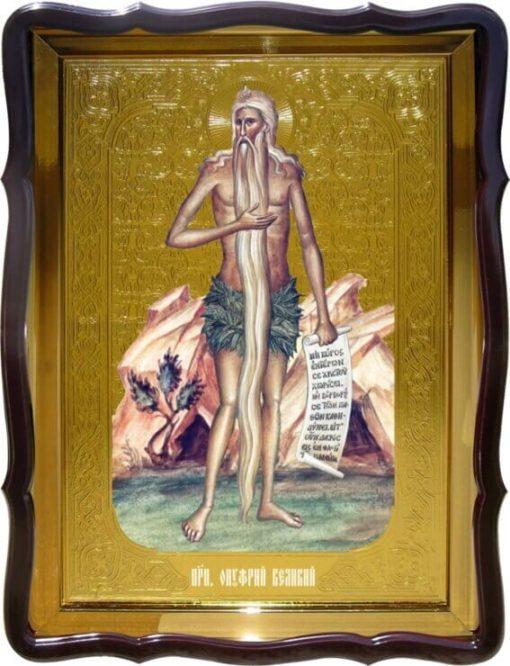Икона Св. Онуфрий Великий (ростовая)