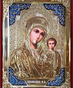 Икона Казанская Пр. Богородица в ризе