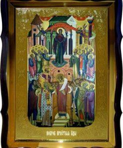 Покров Пресвятой Богородицы 80 на 60см