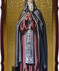Икона в фигурном киоте Св. Виталий