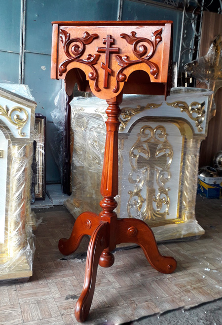 Церковные товары - аналой деревянный