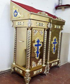 Аналои церковные купить в металле