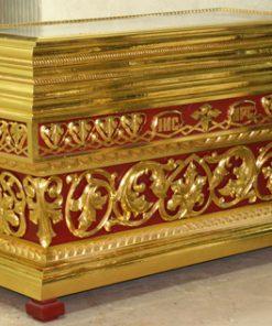 Гробница вишня с золочением большая