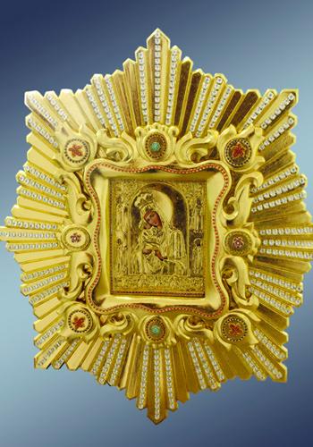 Икона Пресвятой Богородицы спускная