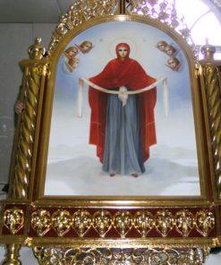 Киот для икон и утварь церковная