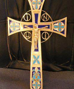 Крест священника мальтийский латунь