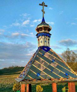 Изготовление крыш для колодцев