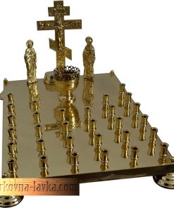 Крышка панихидного стола на 30 свечей