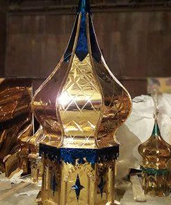 Купол с крестом и шаром для храма
