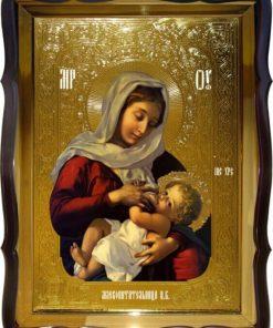 Икона божьей матери млекопитательница