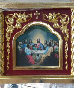 Облачение на престол с резьбой 125х125см