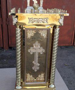 Панихидный стол из металла с литьем
