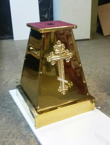 Подставка для креста запрестольного