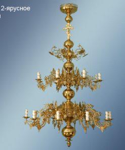 Потолочные люстры 2-ярусные для церкви