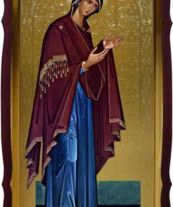 Икона пресвятой Богородицы (деисус)