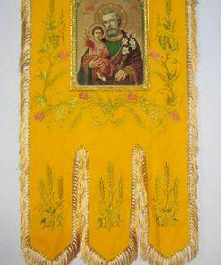 Православная хоругвь тканевая