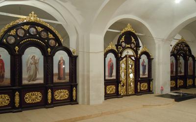 Изготовление церковных иконостасов