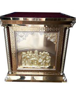 Облачение на престол из металла