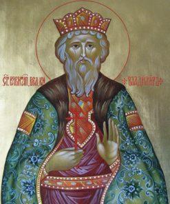 Рукописная икона Св.Владимира