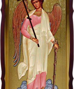 Икона Ангела Хранителя ростовая 112 на 57см