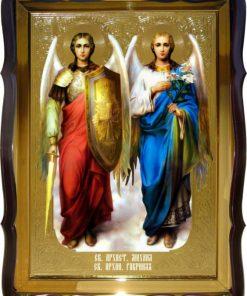 Ангелы Михаил и Гавриил заказать икону