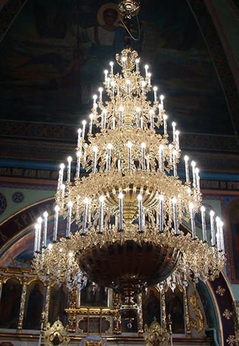 Светильники 6-ярусные на 152 свечей
