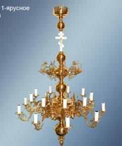 Светильники потолочные на 18 свечей