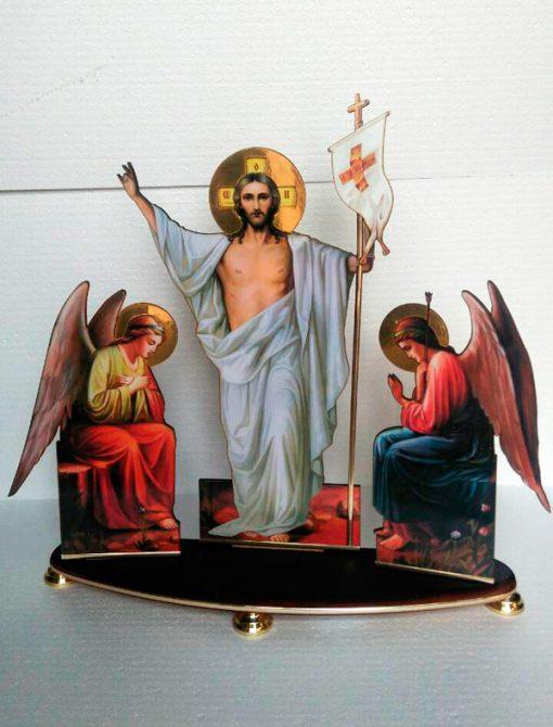 Воскресение малое размер 30х37см