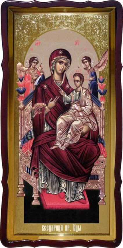 Икона пресвятая Богородица Всецарица