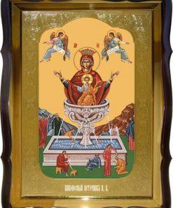 Пресвятая Богородица живоносный источник